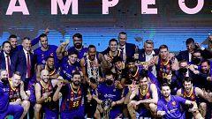 El Barça se proclama campeón de la Copa del Rey en el Wizink Center