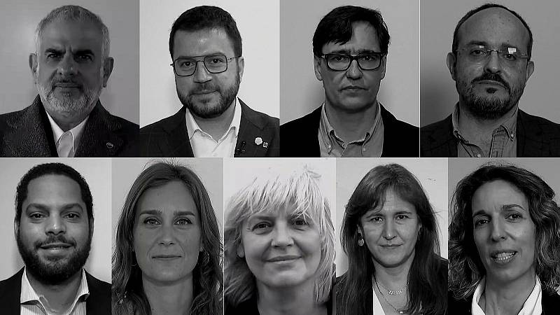 Los candidatos a las elecciones catalanas se someten a un cuestionario muy especial