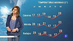 El Tiempo en Extremadura - 15/02/2021