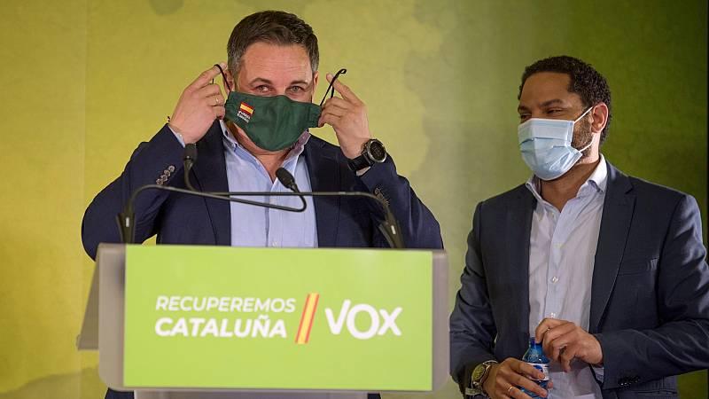 Vox saca pecho como líder de la derecha catalana en la oposición frente a Cs y PP