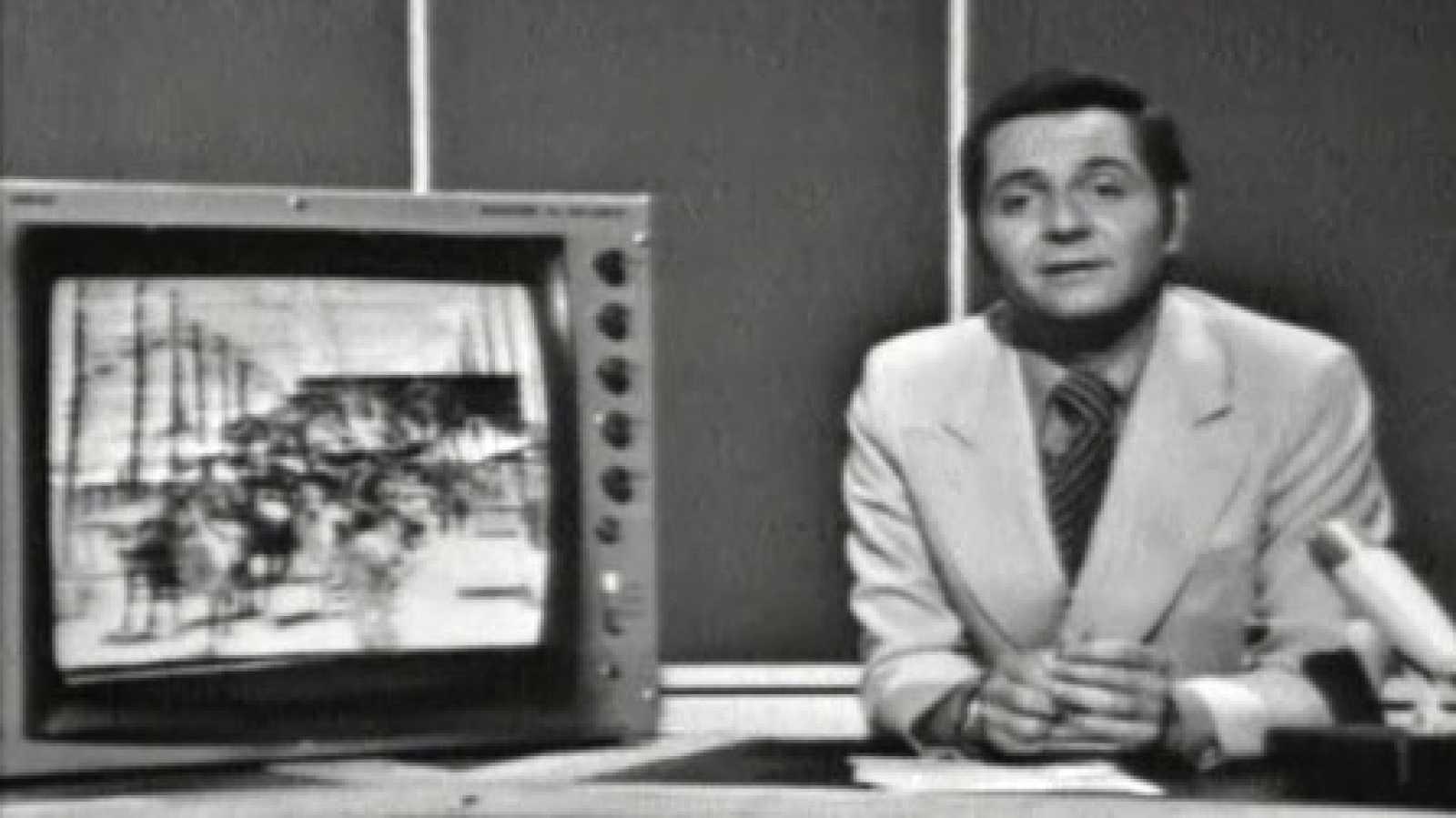 El estreno del nuevo plató del Telediario nos sirve para repasar cómo ha cambiado la imagen de los informativos