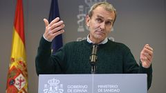 Especial informativo - Coronavirus. Comparecencia de Fernando Simón - 15/02/21