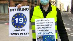 Interinos públicos se concentran por toda España para exigir estabilidad y denunciar un abuso de temporalidad por parte de las administraciones