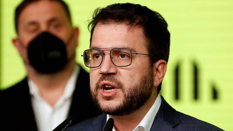 Aragonès buscará un Govern con independentistas y los 'comunes' y mantiene el veto al PSC