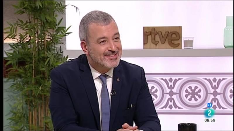 """Jaume Collboni: """"És millor que els que defensem el diàleg tinguem més suport"""""""