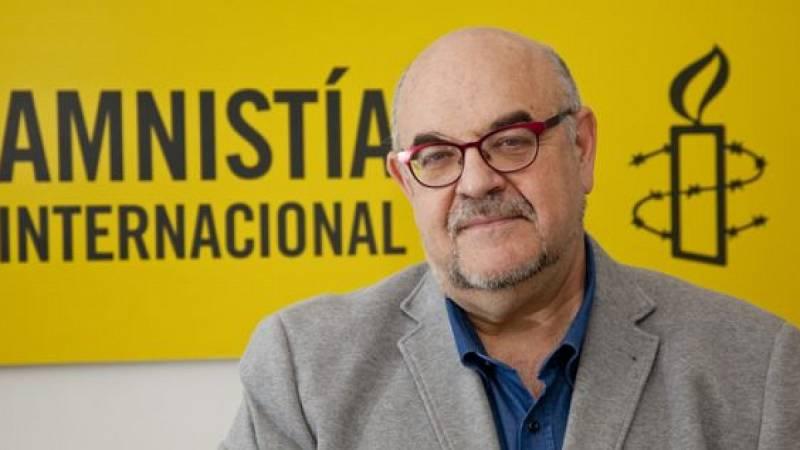 """El director de Amnistía Internacional España: """"Nadie debería ser encarcelado por delitos de opinión"""""""