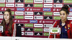 """Maite Oroz: """"El objetivo es la clasificación para la Eurocopa, pero si debutamos será un sueño hecho realidad"""""""