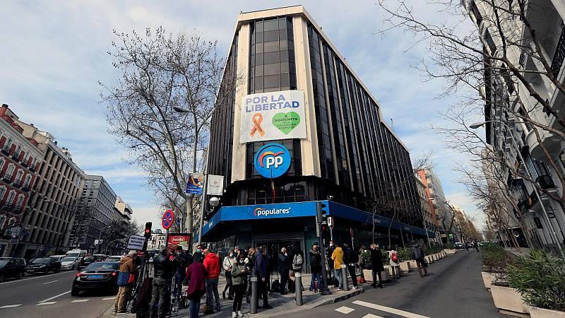 """Casado anuncia que el PP dejará la sede de Génova: """"No debemos seguir en un edificio que se está investigando"""""""