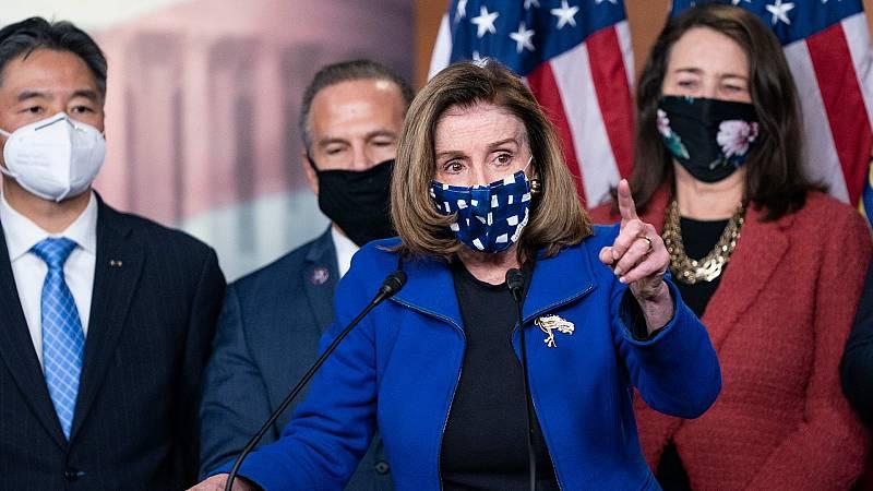 Los Demócratas plantean crear una Comisión de investigación del asalto al Capitolio