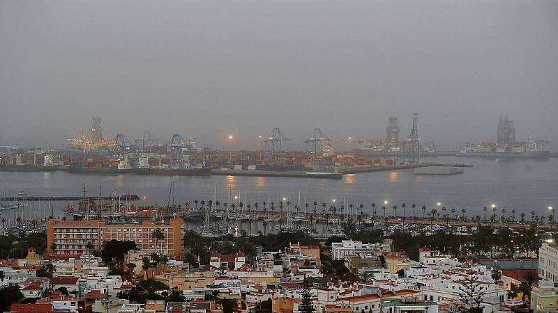 La calima provoca que Canarias registre una de las peores calidades del aire del mundo