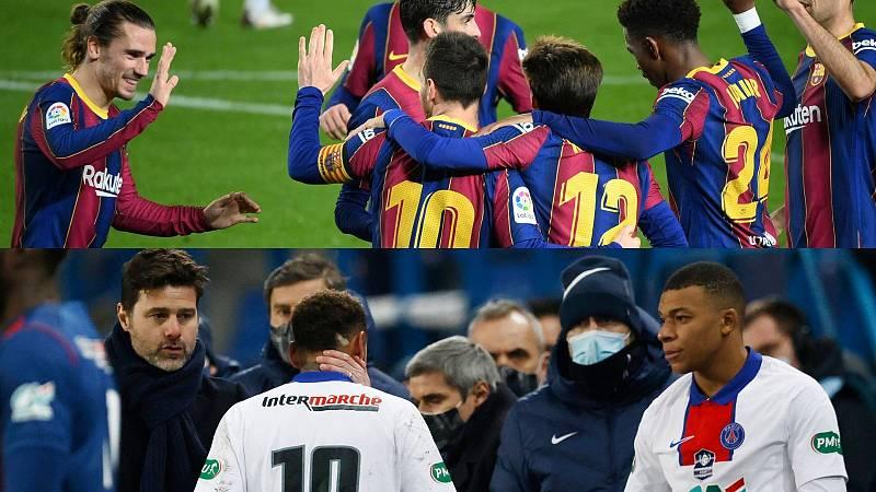 """Barça-PSG, un duelo por la """"obsesión"""" de la Champions"""