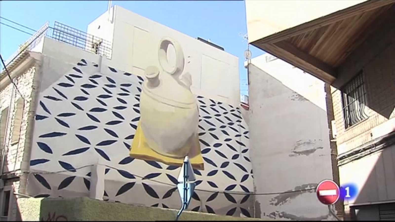 El arte urbano del barrio de San Antón