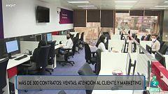 Más de 300 contratos de varios perfiles en una multinacional de atención al cliente