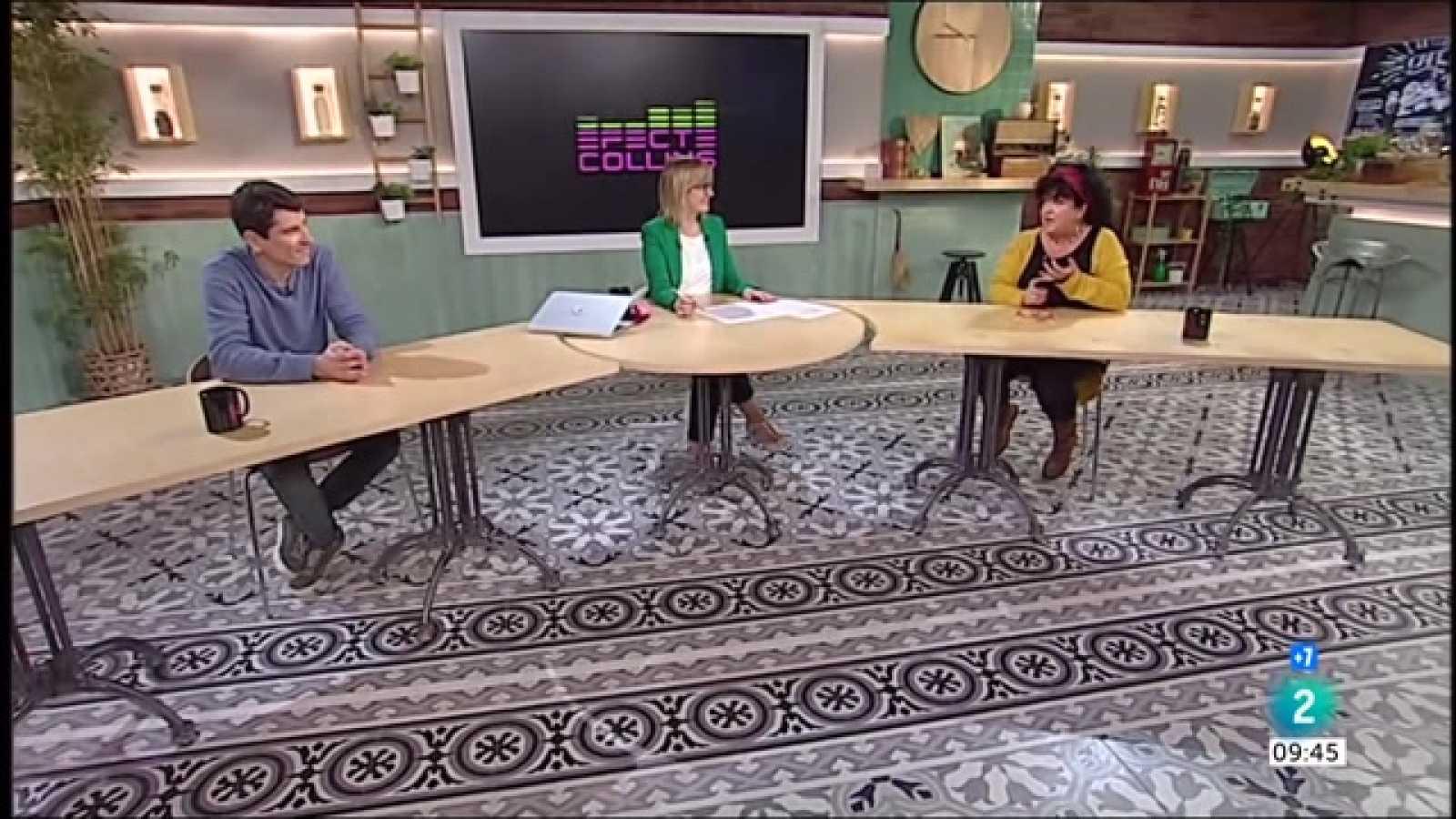 Descobrim 'Efecte Collins', el nou programa de música en directe de RTVE Catalunya