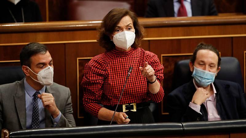 Nuevo choque entre PSOE y UP por las leyes en materia de igualdad mientras la oposición pide el cese de Iglesias
