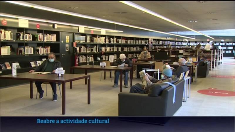 Reabre, con limitacións, a actividade cultural en Galicia