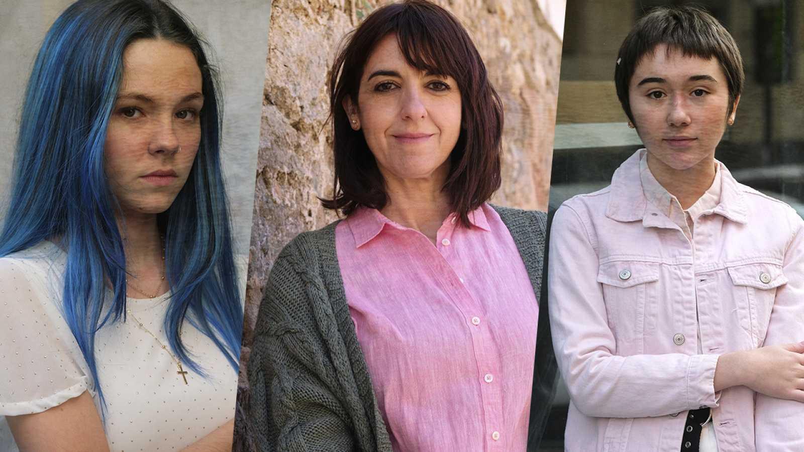 La caza. Tramuntana - Entrevista a Llum Barrera, María Mercado y Zoe Stein