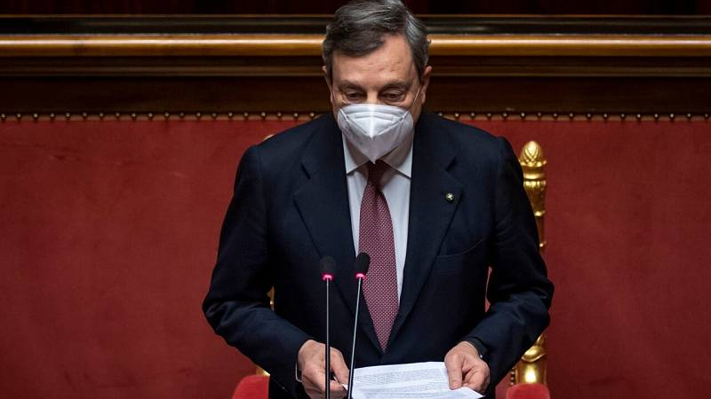 Draghi propone a la Unión Europea un mecanismo obligatorio de acogida de migrantes