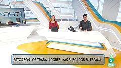 Los profesionales más buscados en España