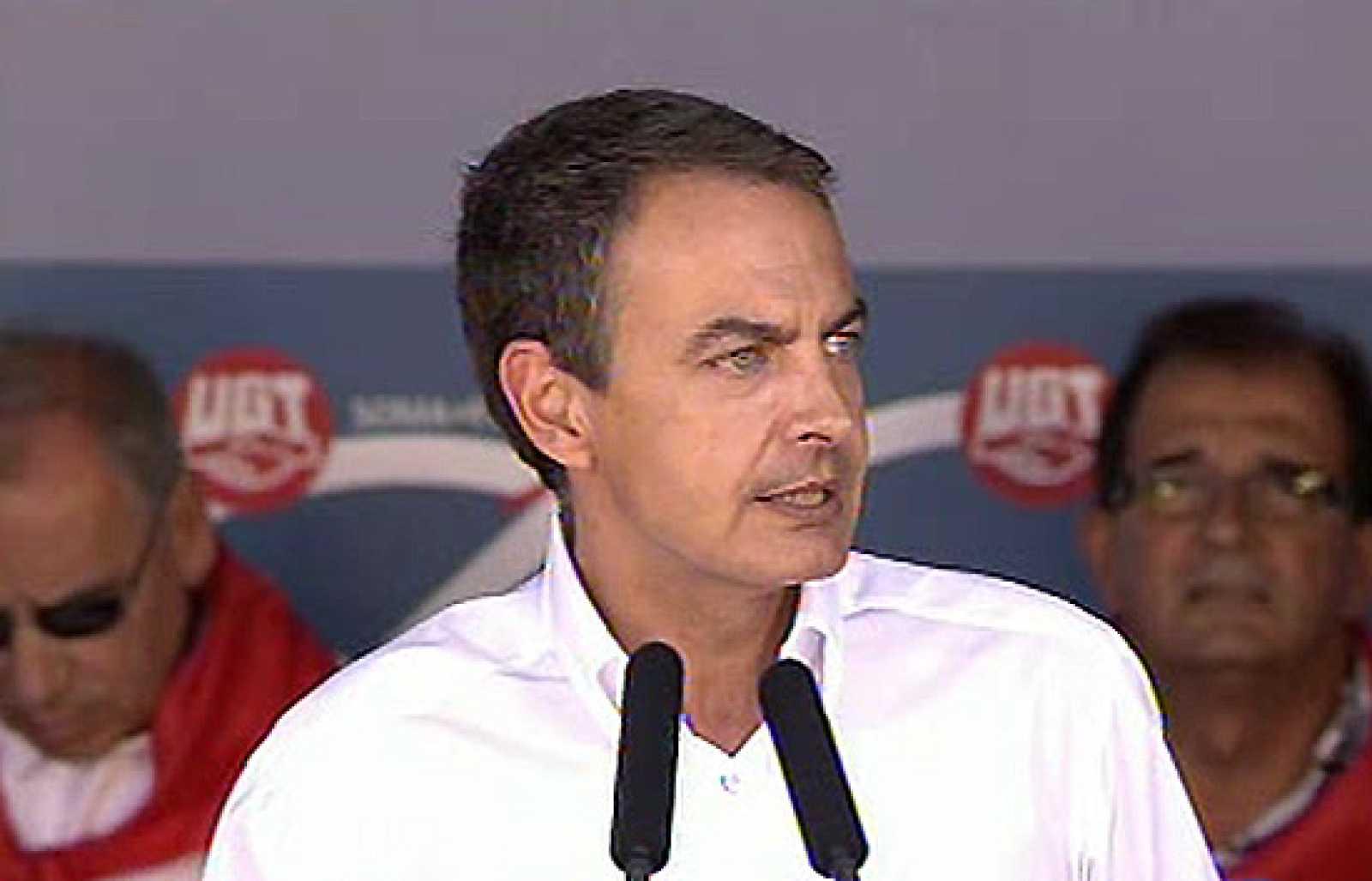 """Zapatero anuncia que las """"pensiones mínimas mantendrán su poder adquisitivo"""""""