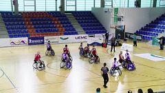 Baloncesto en silla de ruedas - Liga BSR División de honor. Resumen Jornada 12