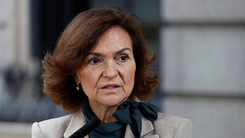 """Calvo pide a Echenique no """"alentar"""" los disturbios y la oposición exige su cese"""
