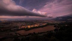 Intervalos de viento fuerte en Galicia, área cantábrica y noreste de Castilla y León