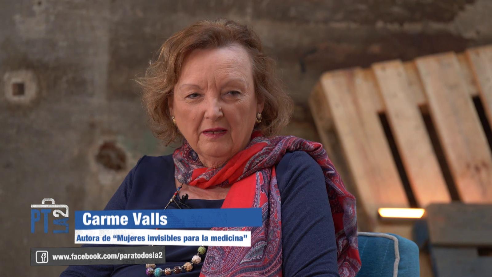 Mujeres invisibles para la medicina.Entrevista a Carme Valls