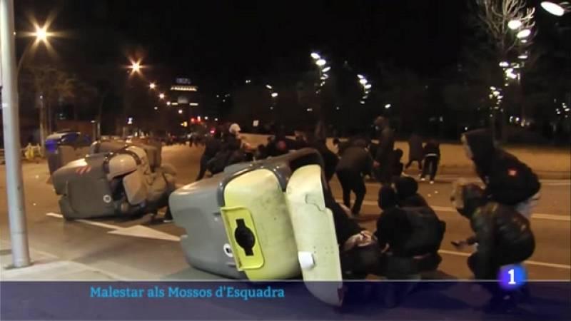 Indignació entre els mossos d'esquadra per la manca de suport de la cúpula policial