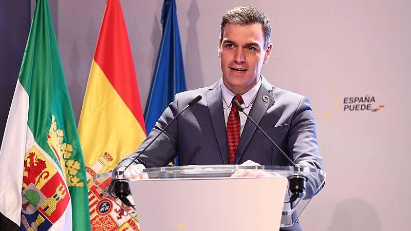 """Sánchez rompe su silencio ante los disturbios por el caso Hasel: """"La violencia es inadmisible"""""""