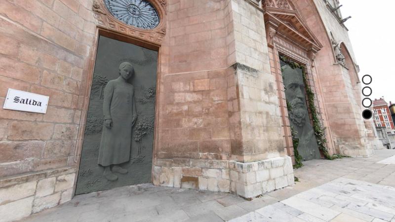 Polémica por el cambio de las puertas de la Catedral de Burgos en su 800 aniversario