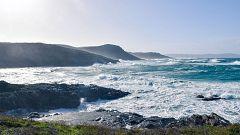 Viento fuerte en el litoral oeste de Galicia y con intervalos en el interior del área cantábrica