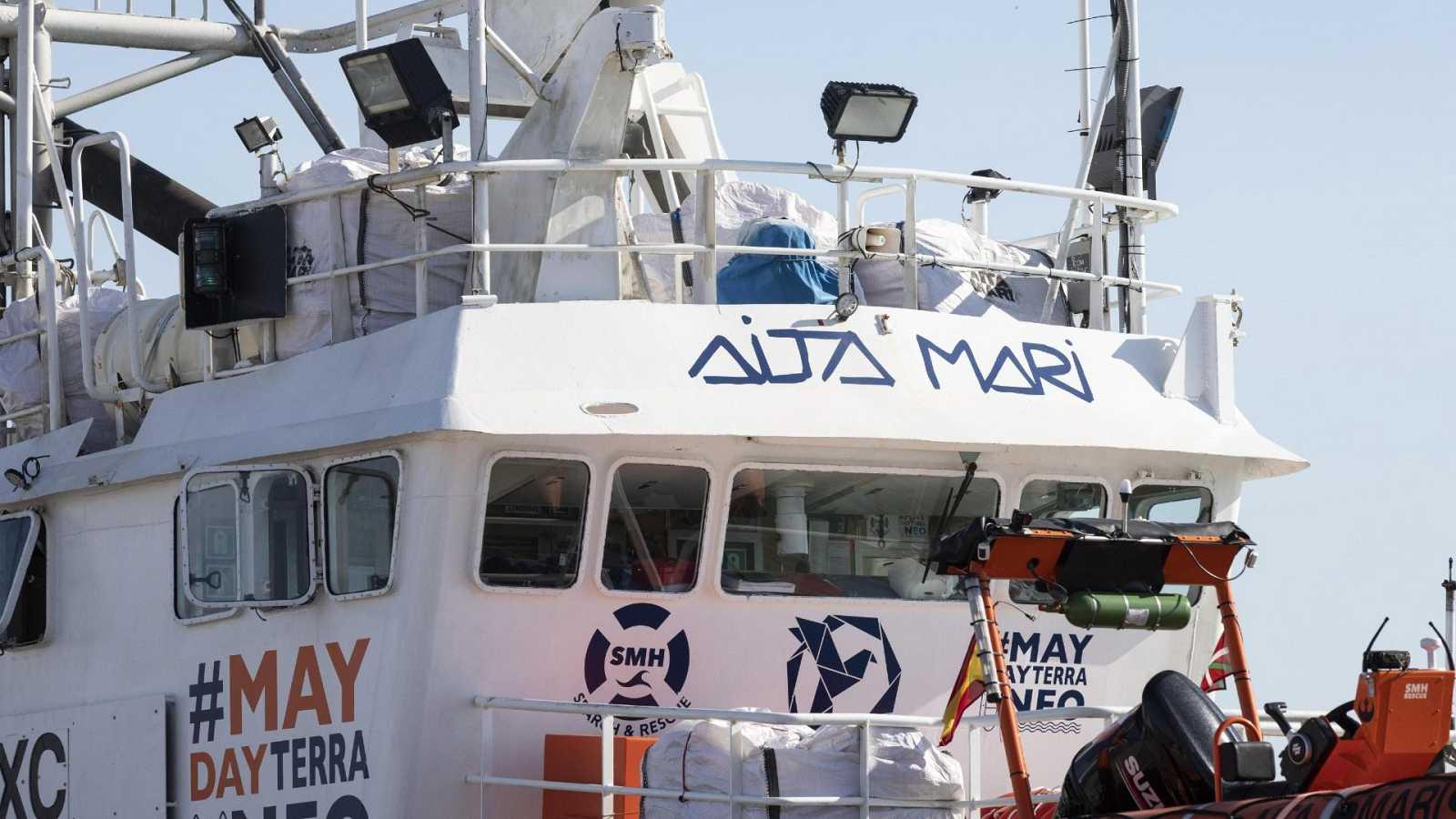 El 'Aita Mari' rescata 148 personas cerca de la costa de Malta