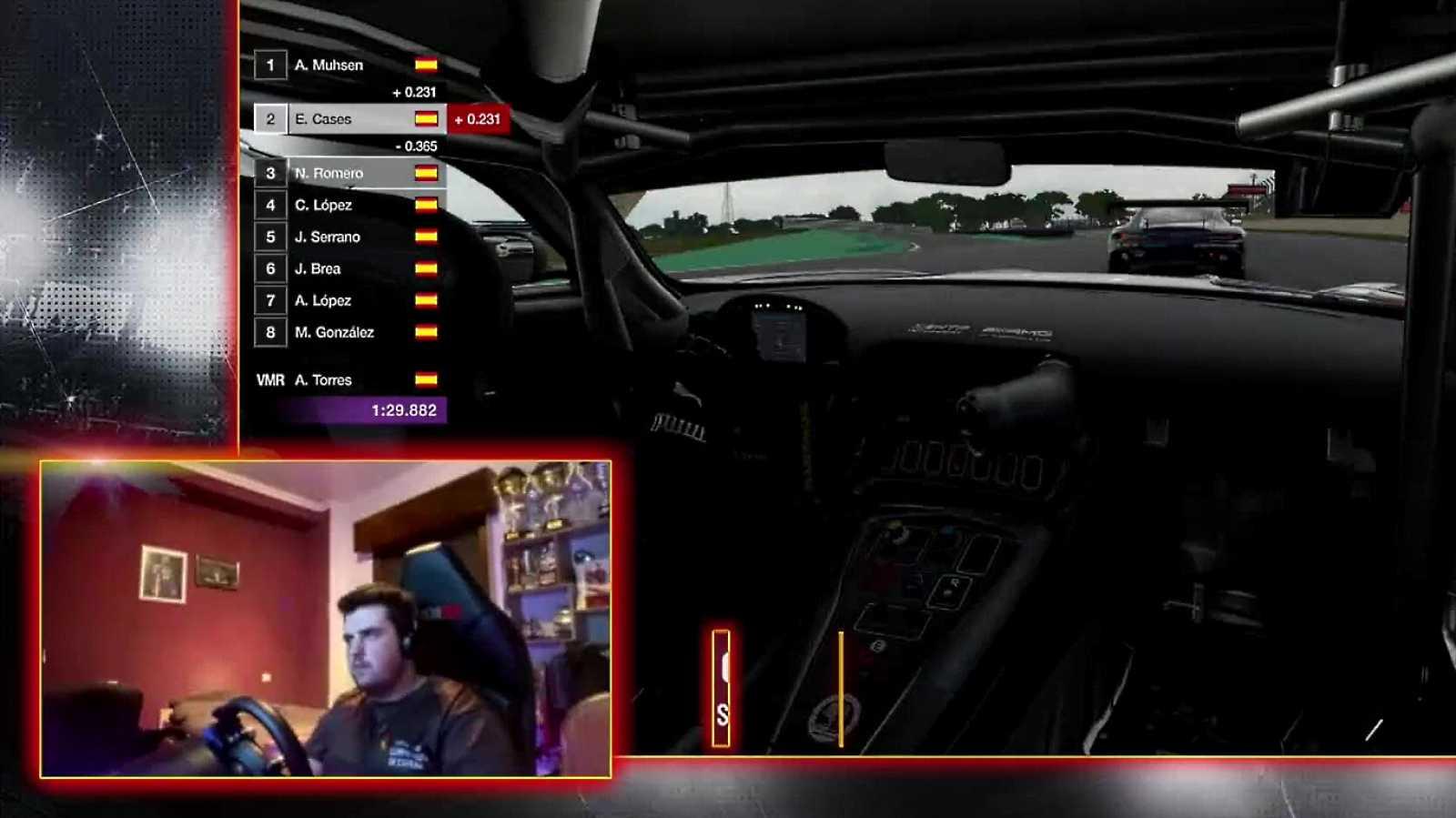Automovilismo virtual - Campeonato de España Gran turismo - Gran Premio 2 - ver ahora
