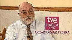 TVE habla con Arcadio Díaz Tejera - 21/02/2021