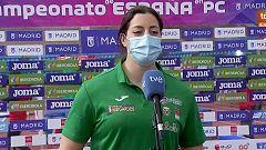 """Belén Toimil: """" Estoy muy contenta por mi primer oro nacional en pista cubierta"""""""
