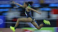 Ana Peleteiro se proclama campeona de España de triple salto