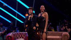 Eurovisión 2021 - La anécdota de Blas Cantó con la altura de Nia