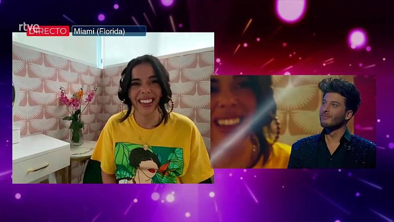 Eurovisión 2021 - Beatriz Luengo manda un mensaje a Blas Cantó