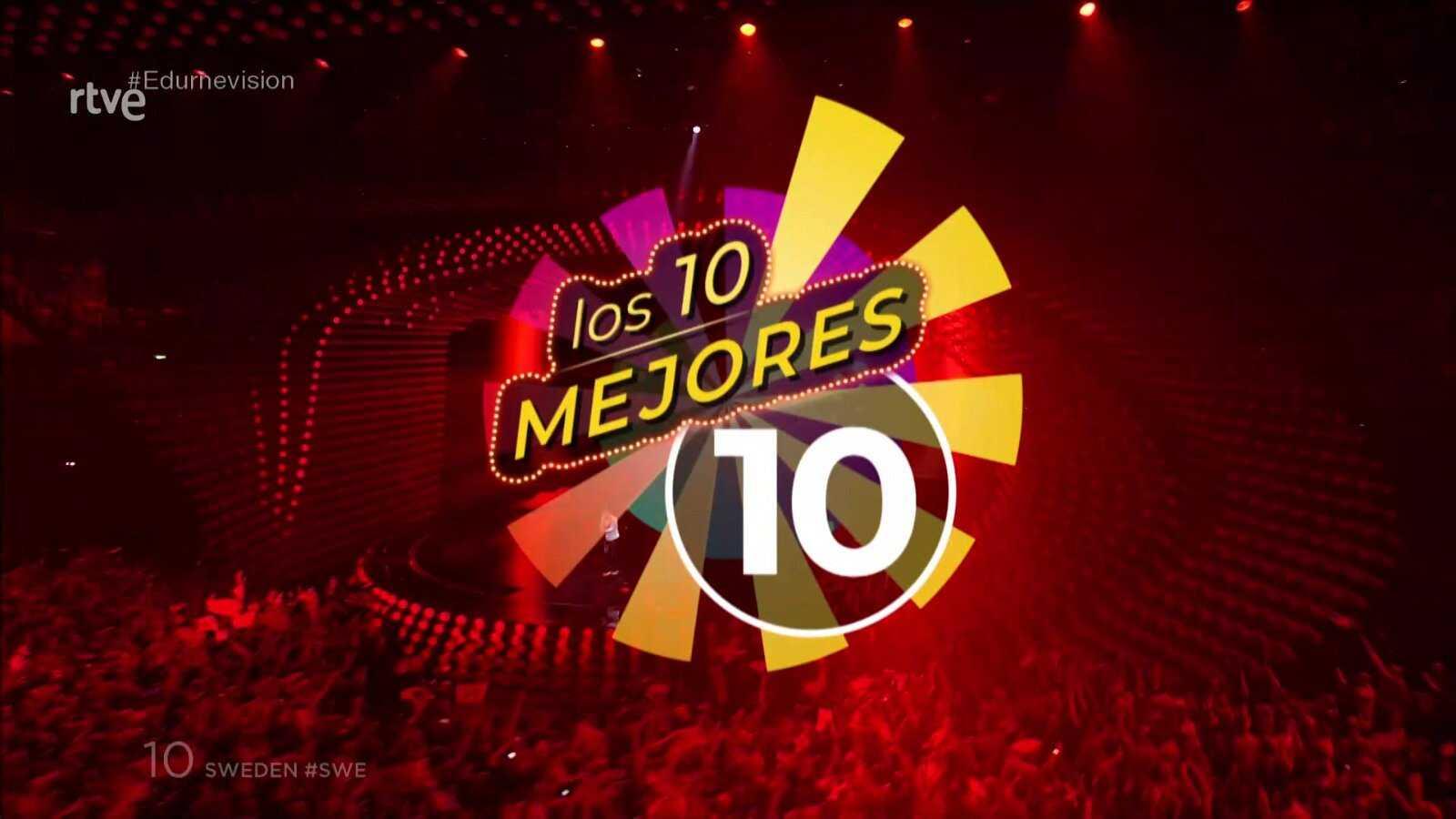 El ránking de las 10 mejores canciones de Eurovisión