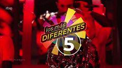 El top de las cinco canciones diferentes en Eurovisión