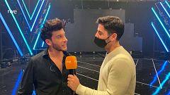 """Eurovisión 2021 - Blas Cantó: """"""""Voy a quedarme"""" no es una balada triste. Habla sobre la esperanza"""""""