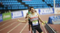 Mechaal somete a Katir en los 3.000 metros del campeonato de España de atletismo indoor