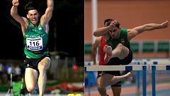 Final 60m vallas Campeonato de España en pista cubierta