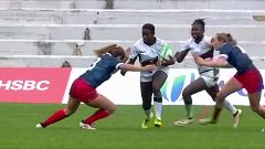 Rugby - Torneo internacional Sevens (femenino): España - Kenia
