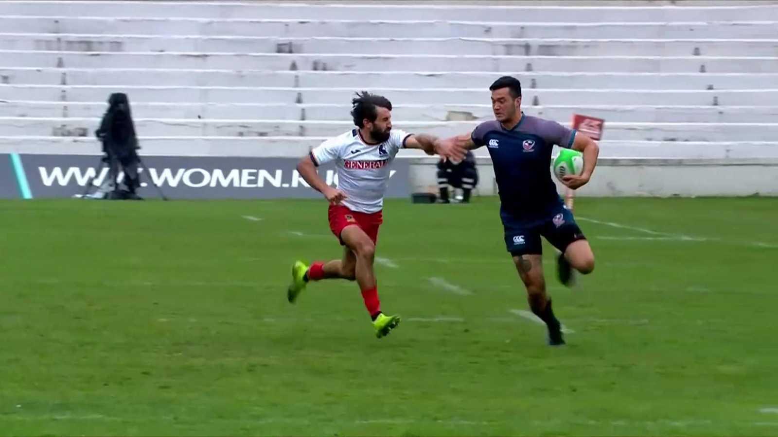 Rugby - Torneo internacional Sevens (masculino): USA - España - ver ahora