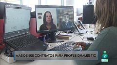 Más de 500 contratos indefinidos para profesionales TIC
