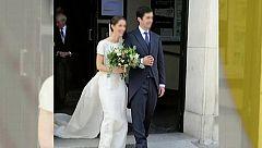Imágenes en exclusiva de la boda sin mascarillas de la nieta de Ruiz Mateos