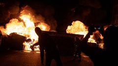 La quinta noche de disturbios en Barcelona, contada desde dentro