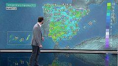 Suben las temperaturas diurnas, salvo en el Mediterráneo y Canarias que se mantienen